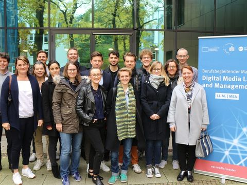 Erfolgreicher Start des Masterstudiengangs Digital Media Law and Management