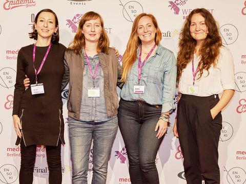 Female Leadership-Programm shift|F beim Webfest Berlin 2019