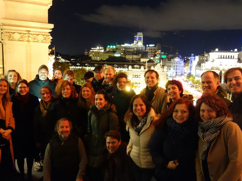 EUROPEAN CO-PRODUCTION workshop this time in wonderful Madrid