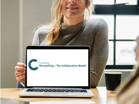 "50% introductory discount: New e-learning course ""Storytelling - The Collaborative Model"""